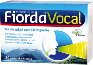 Fiorda Vocal 30 pastylek1
