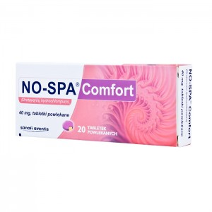 NO-SPA Comfort 20 tabletek1