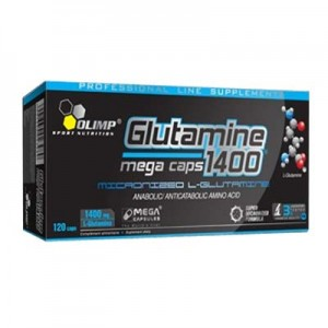 OLIMP GLUTAMINE MEGA CAPS 1400 mg 120 kapsułek1